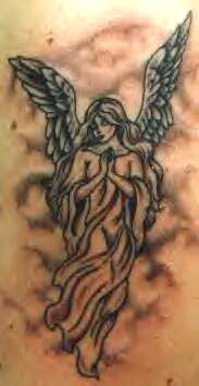 Betender Engel Tattoo
